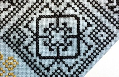 Cross-Stitch Diamonds with Connie