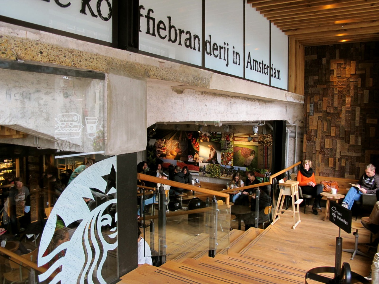 Coffee Concept Amsterdam Sunday In Amsterdam Let 39s Go To That Cool New Starbucks