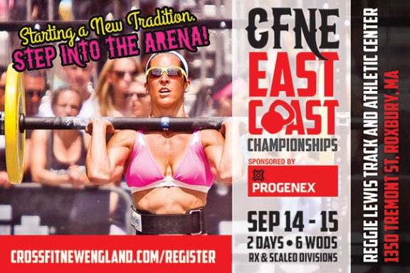 Come to the Reggie Lewis Center this weekend and cheer on your fellow Crossfit New Englanders as the compete in the East Coast Championships.