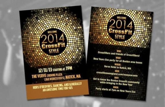 That's right...NYE is coming and it's going to be AWESOME!