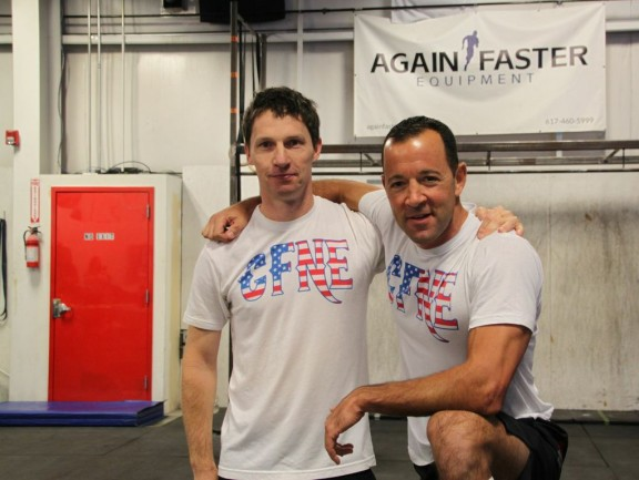 Congratulations to Saint and Bob for taking 3rd place this weekend in The Gauntlet Part 3 at Crossfit MF! Also, I have a feeling that Bob has many leather bound books and his apartment probably smells of rich mahogany...just sayin.