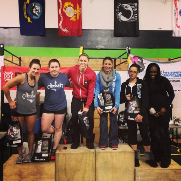 Guess fitness runs in the family...congrats Rachel and Erica on your first place finish this weekend!