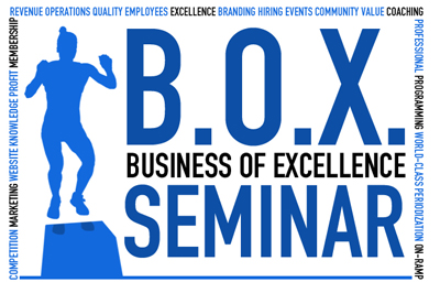 Ben's hosting his Business of Excellence Seminar today.
