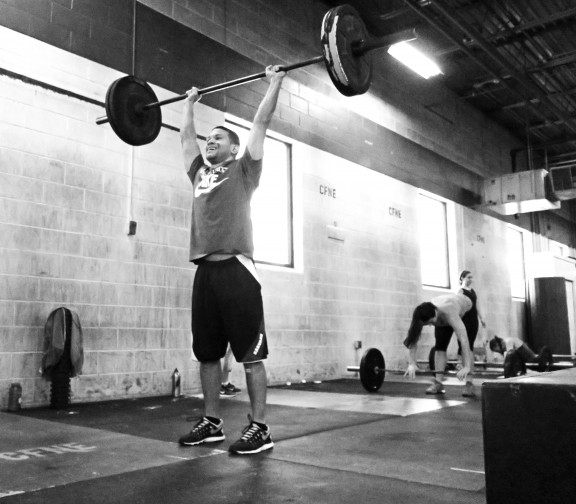 Seth just started last week and after his first class he got his first muscle up and double unders. Holy ninja skills batman!