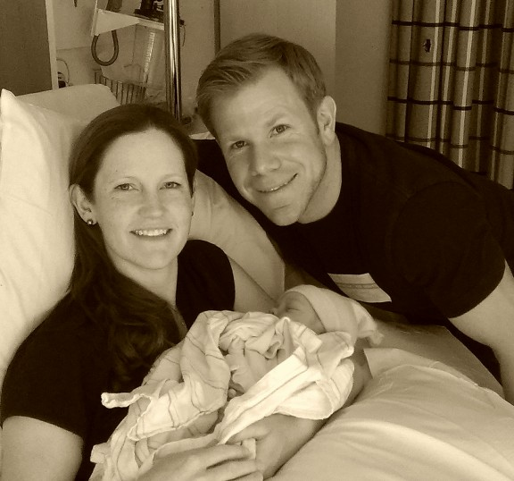 Welcome to the family Everly Isobel Schuler! Firebreather in training.