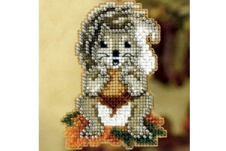 Thanksgiving Beaded Cross Stitch Kits