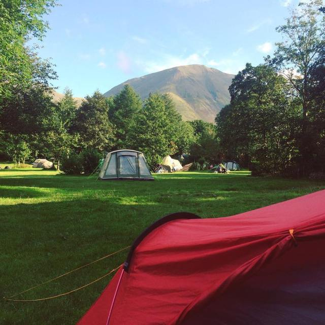 British camping is so beautiful! Who else camped this summer?hellip