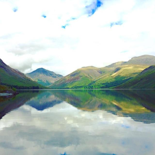 That reflection on Wast Water is phenomenal crosstheuk training advicehellip