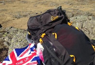 Cross the UK: Lowe Alpine Zephyr 55:65 review