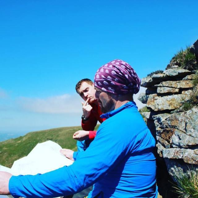 Blue skies  get outside !! crosstheuk training advice adventurehellip