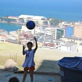 Über den Dächern der Copacabana.
