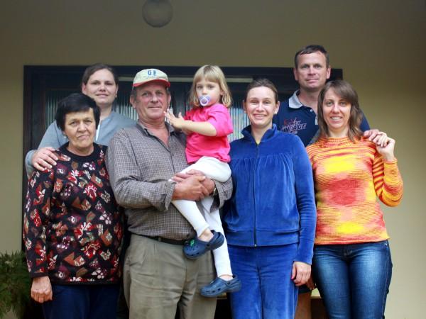 Die Familie von Ranice (links im Bild)