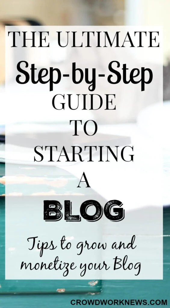 How to Start a Blog to Make Money - A Step-by-Step Guide to Start - example of a wanted poster