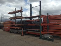 "Cantilever Racks - ""USED WAREHOUSE PALLET RACK"" CALIFORNIA ..."