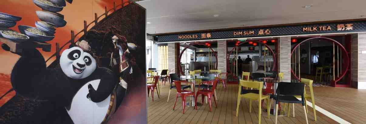 Kung Fu Panda noodle shop debuts aboard Quantum of the Seas