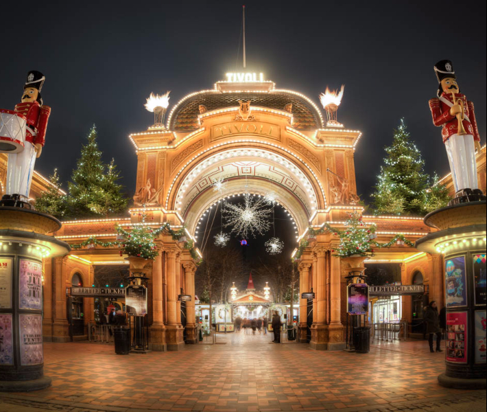 Tivoli Gardens Thrill Rides The World's Best Christmas Markets - Cruise118.com Advice