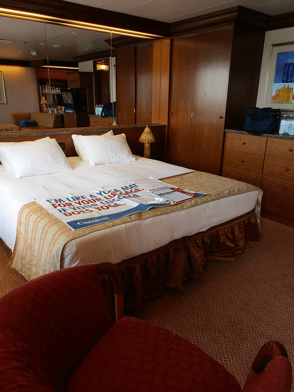 Sofabed Carnival Glory Penthouse Suite Details