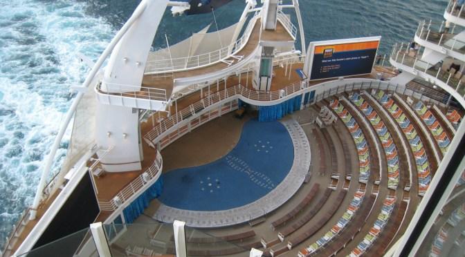 Drone beelden cruiseschip