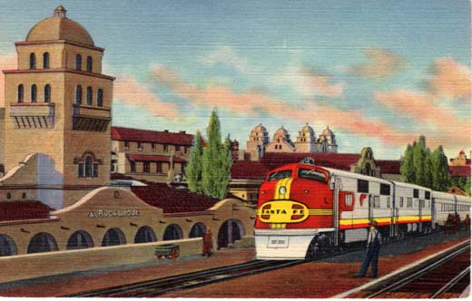Pullman Kitchen With Island Cruising The Past: Santa Fe's All Pullman Super Chief