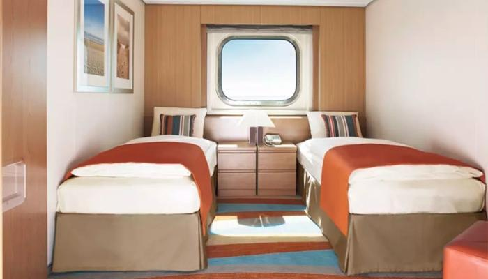 Mirrored Bedside Table Marella Explorer Cabins And Suites | Cruisemapper
