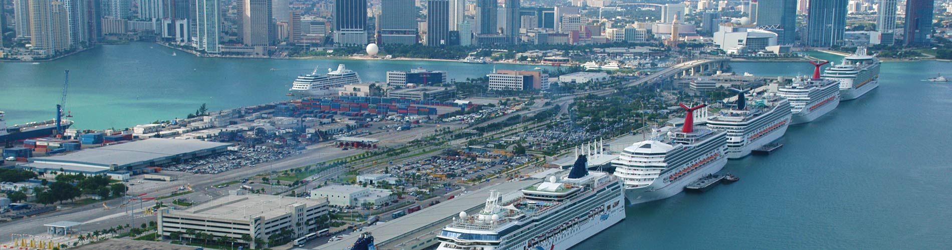 Miami Port Port Of Miami Cruiseshiphotels Fort Lauderdale