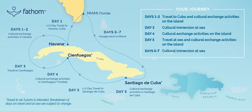 Fathom Cuba Cruises, 2019 and 2020 Cuba travel with Fathom The