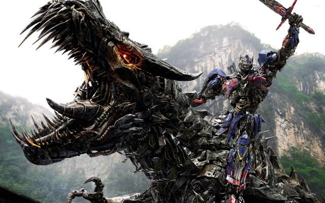 transformer_age_of_extinction_optimus_prime_and_dino_slug_wallpaper