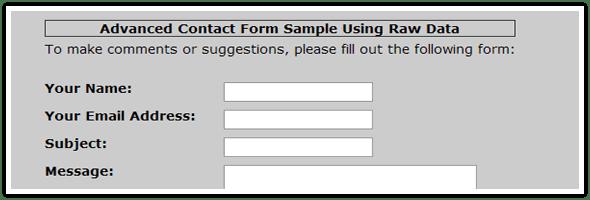 Advanced Contact Form