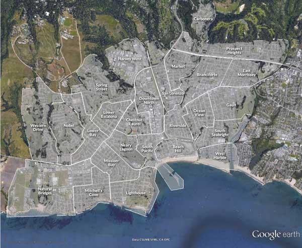 Fiber neighborhoods in Santa Cruz