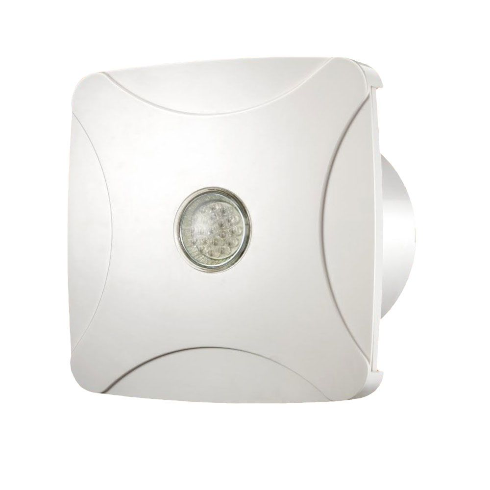 Bathroom Extractor Shower Fan Light Led 100mm 4 With