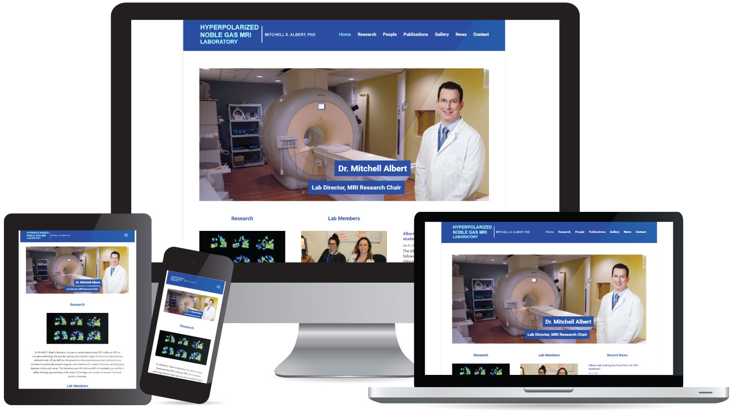 CryoDragon (Kitchener Waterloo Cambridge) Website Design HP Gas MRI Lab