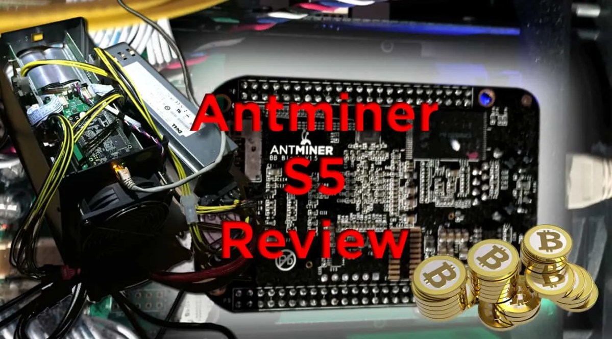 Antminer S5 Review: Best bitcoin miner