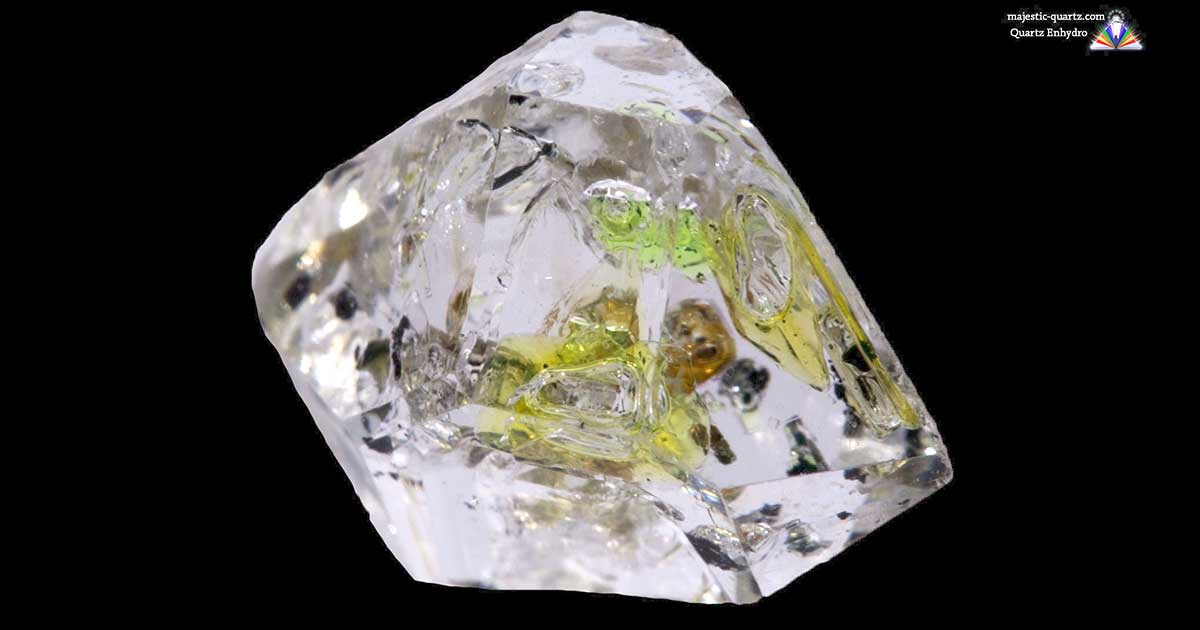 Enhydro quartz properties and meaning photos crystal