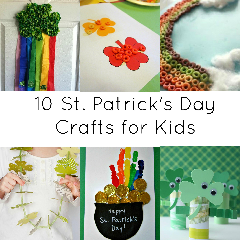 Activites for kids 10 st patrick s day crafts