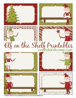 Printable Blank Notes The Shelf Elf