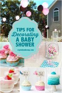 Tips for Decorating a Baby Shower | CrystalandComp.com