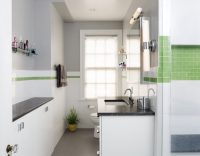 White Gloss Bathroom Cabinets - Crystal Cabinets