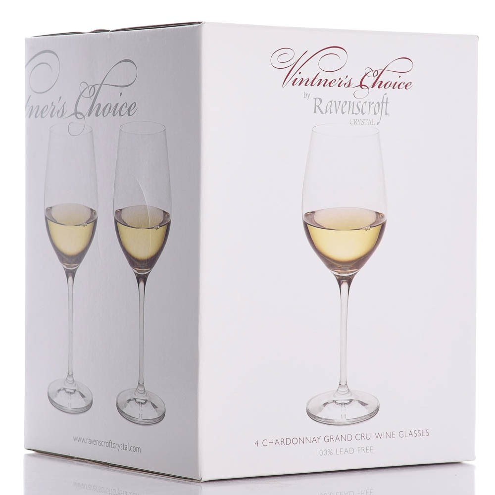 Chardonnay Wine Glass Custom Crystal Chardonnay Wine Glass 4pc Set By Ravenscroft