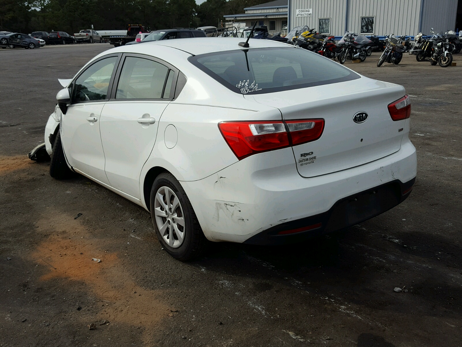 Eastern Shore Kia 2013 Kia Rio Lx 1 6l 4 In Al Mobile Knadm4a33d6097491 For Sale