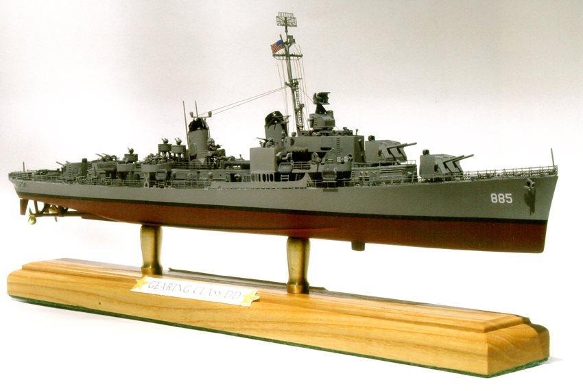 1 350 scale gearing class destroyer finescale modeler