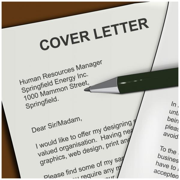 Creating a Cover Letter for Your Job Search - Department of Computer - images of cover letters