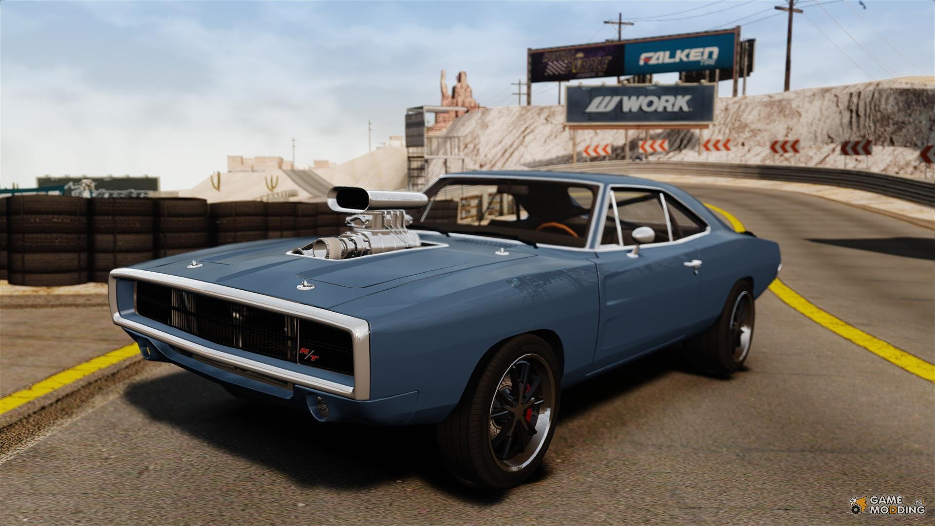 Fast And Furious 6 Doms Car Wallpaper 1970 Dodge Charger Rt For Gta 4