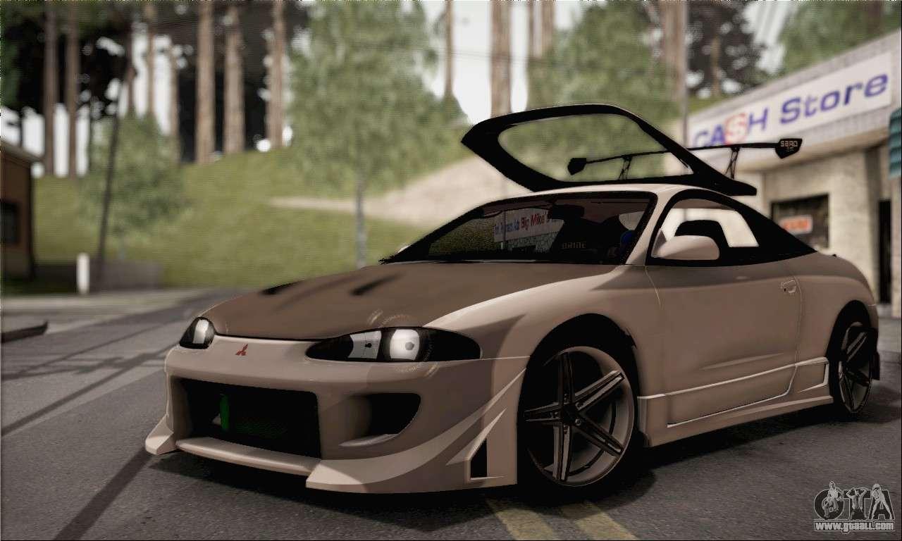 Gta 5 Wallpaper Cars Mitsubishi Eclipse For Gta San Andreas