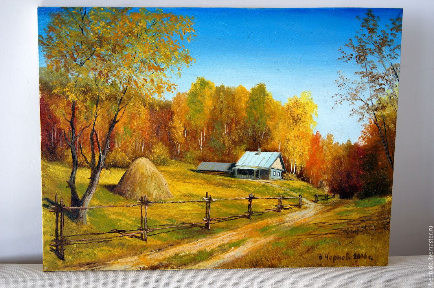 Buy Paintings Online Oil Painting Landscape Glubinka Author 39s Work Shop