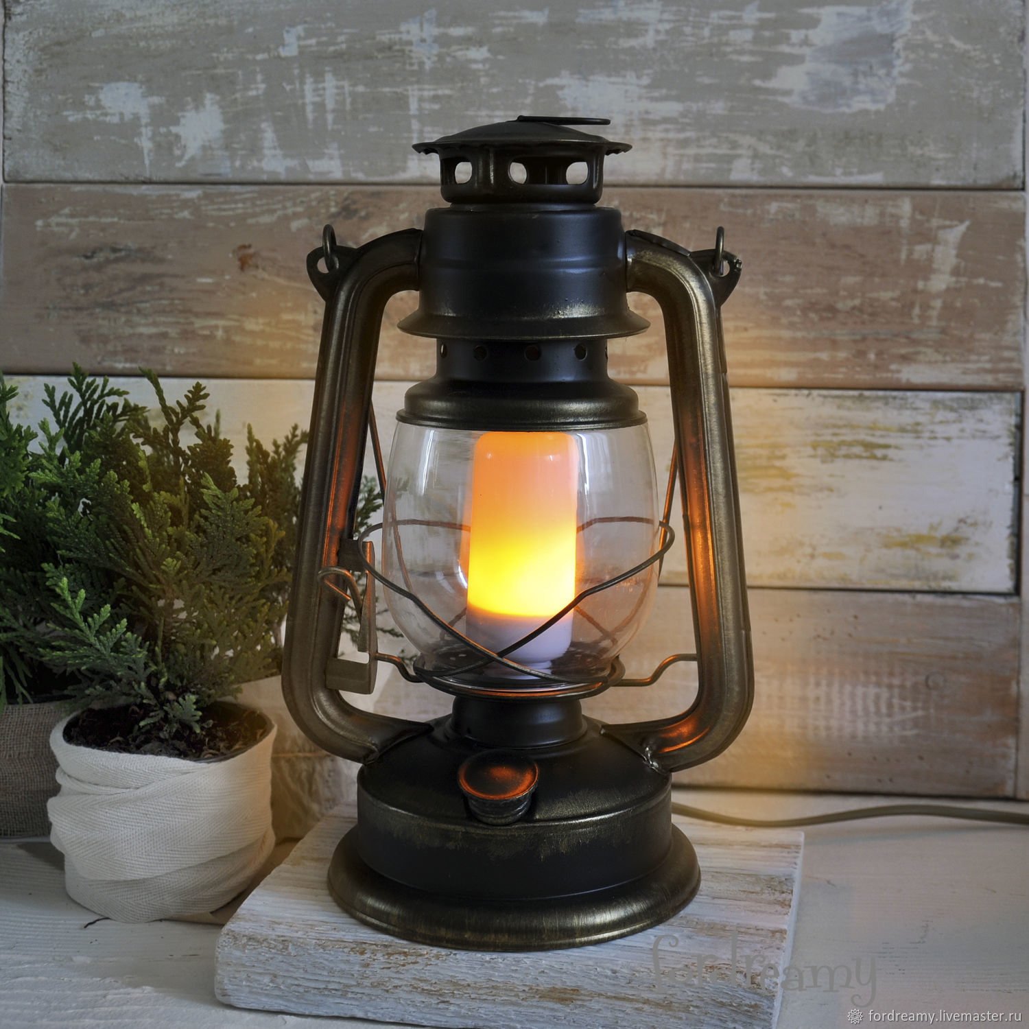 Modern Kerosene Lamp Retro Lamp Kerosene Lamp Electric Shop Online On Livemaster With Shipping