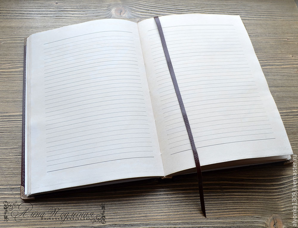Personal diary Record book \u2013 shop online on Livemaster with