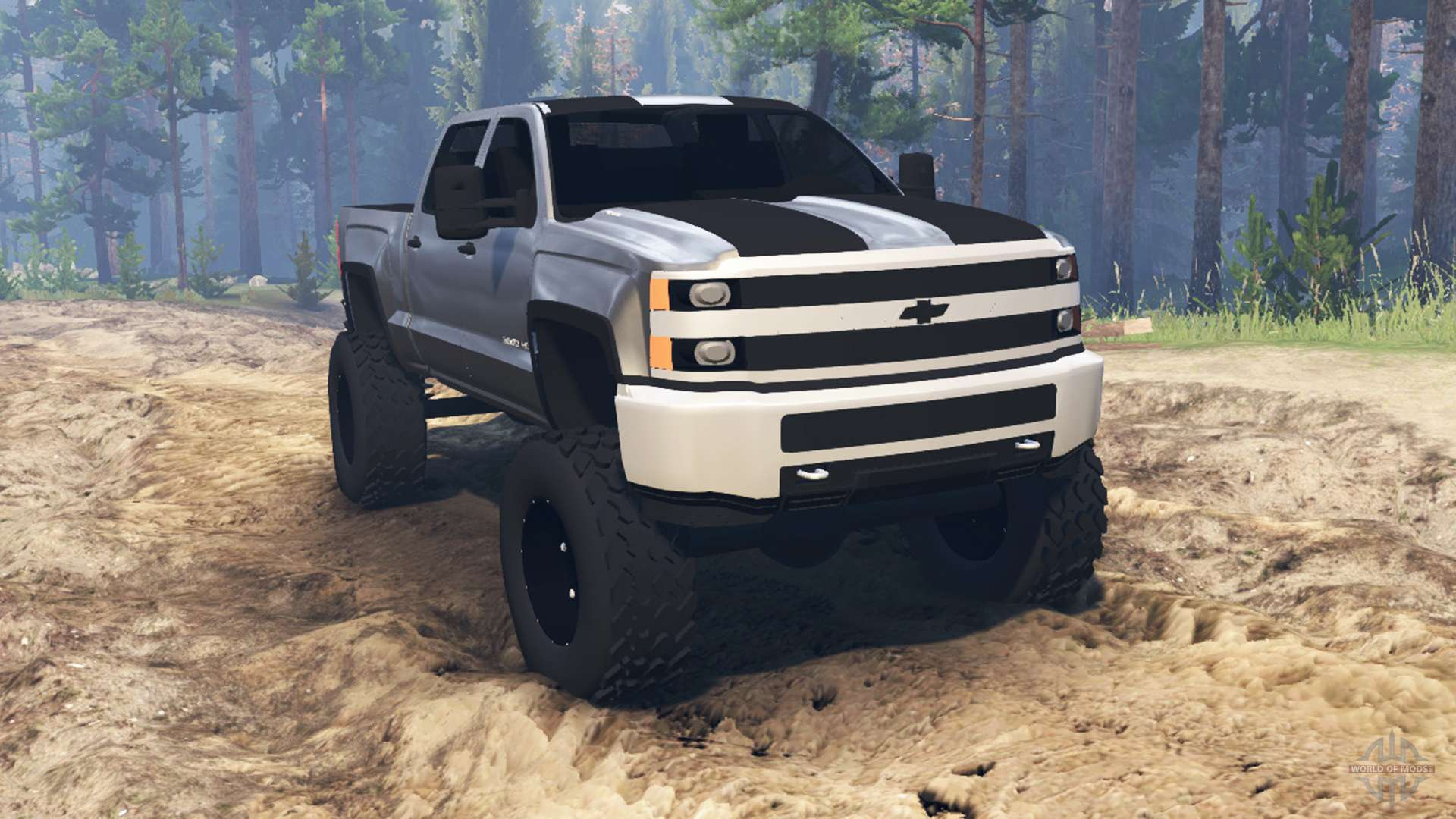 Police Car Lights Wallpaper Chevrolet Silverado 3500 Hd For Spin Tires