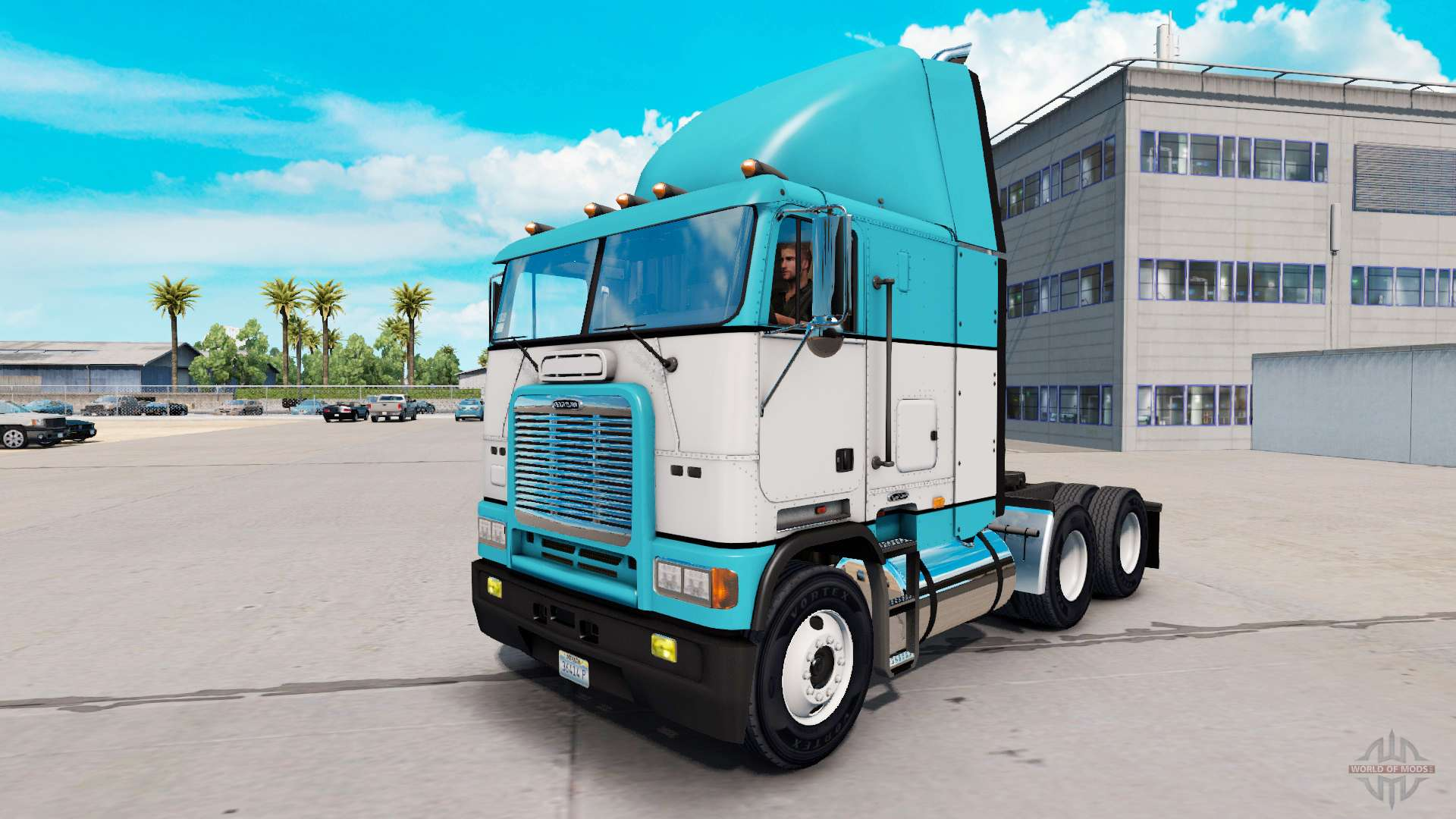 Baby Truck Skin Baby Blue Truck Freightliner Flb For American Truck
