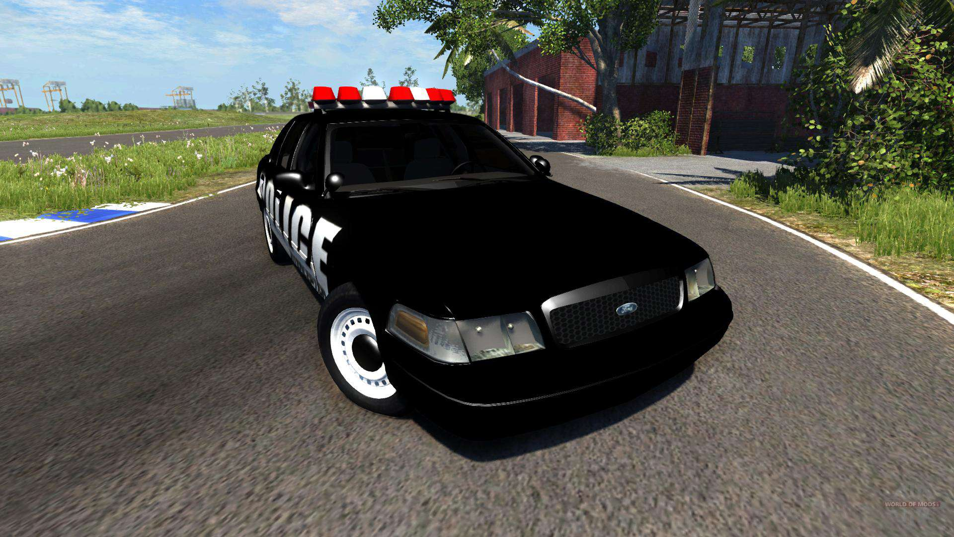 Crown Buggy Räder Ford Crown Victoria Police Interceptor Für Beamng Drive