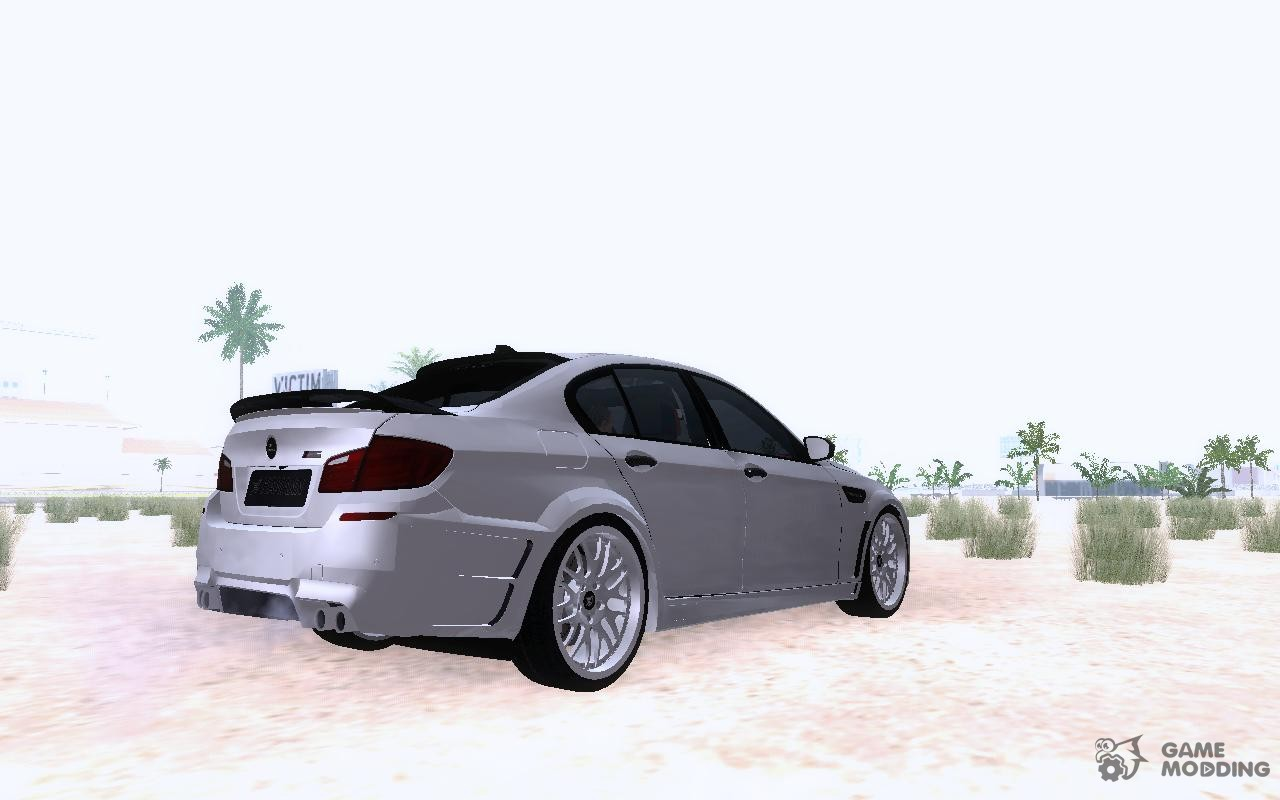 Fitform Sessel Modell 212 M5 Bmw M5 F10 Hamann For Gta San Andreas